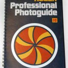 KODAK PROFESSIONAL PHOTOGUIDE, 1st Edition  LIKE NEW Spiral-bound Kodak Publications No. R-28