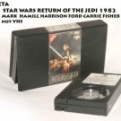 STAR WARS RETURN OF THE JEDI 1982 BETA MARK  HAMILL HARRISON FORD CARRIE FISHER not VHS