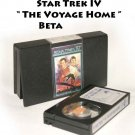 Star Trek IV The Voyage Home (Betamax Format). Rare