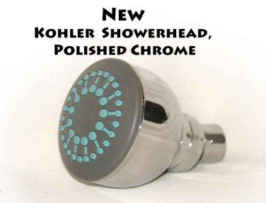 NEW Kohler  Showerhead, Polished Chrome