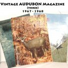 Vintage AUDUBON Magazine (three) 1967 - 1968