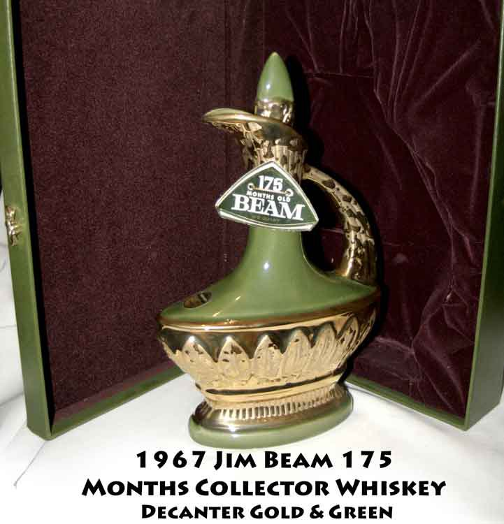 Vintage 1967 Jim Beam 175 Months Collector Whiskey