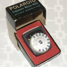 Polaroid Exposure Meter 625. Comes with original box.