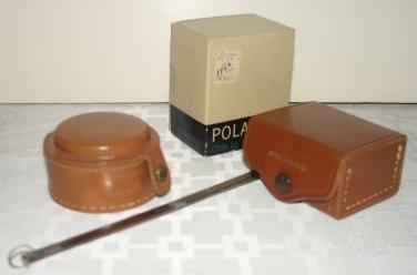 Polaroid Close-Up Lens Kit #550 Leather Case Measuring Tape & 551 KITS..CLOSE-UP & FILTERS & HOOD