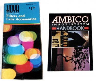 AMBICO IMAGE SYSTEM HANDBOOK & hoya filters and lens accessories handbook