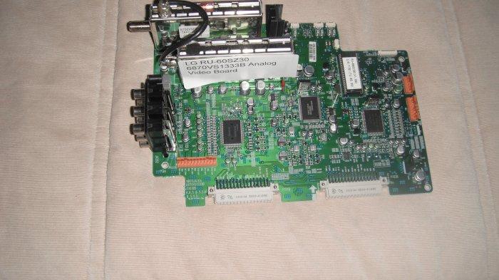 LG 6870VS1333B Analog Video Board For RU-60SZ30
