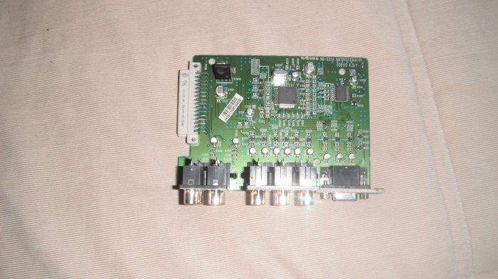 LG RU-52SZ51D  6870VS1334A(0) Audio / Video Input / Output Board