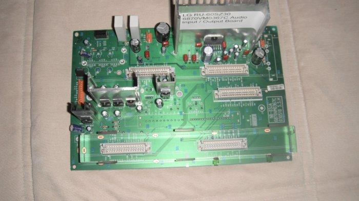 LG 6870VM0367C  Audio Input/Output Board For RU-60SZ30