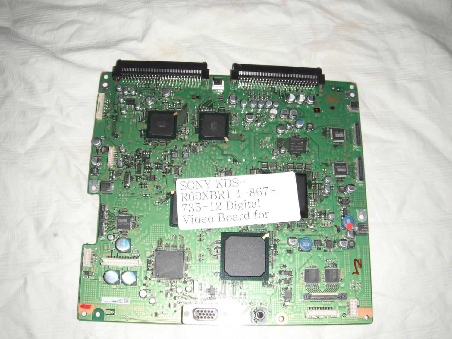 SONY KDS-R60XBR1 1-867-735-12 Digital Video Board for