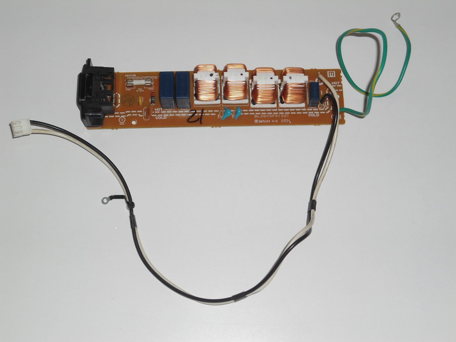BL0600F01021 Power Supply Board - Auxiliary for SYLVANIA 6842PE