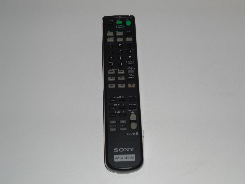 SONY RMU185 Audio/Video Receiver Remote Control