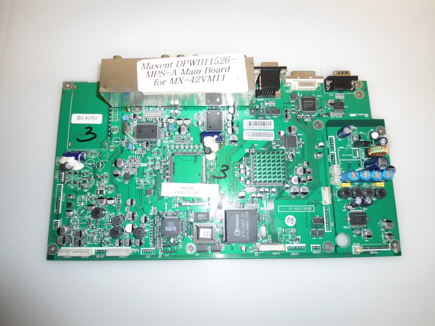 Maxent DPWB11526-MPS-A Main Board for MX-42VM11