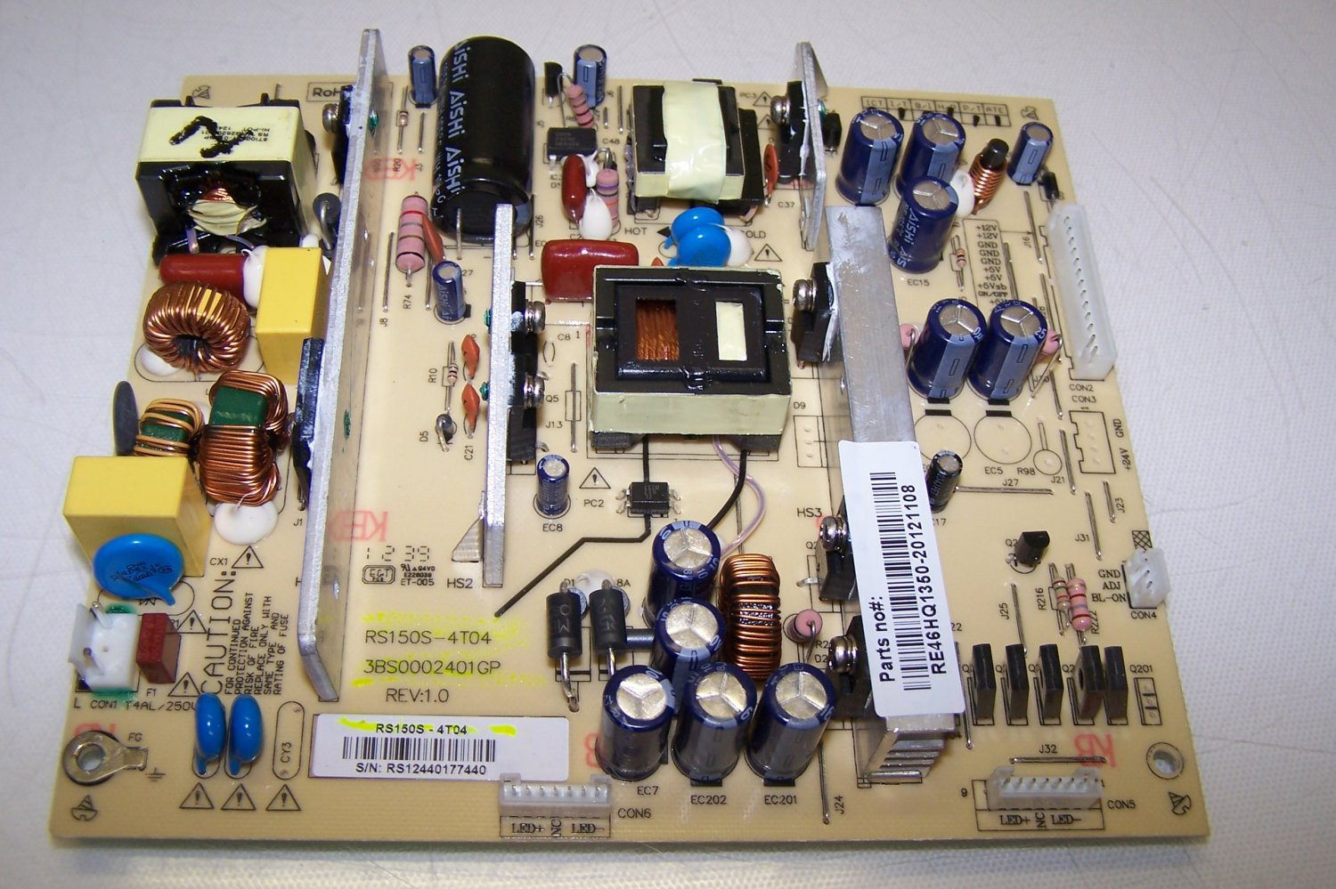 POWER SUPPLY RS150S-4T04