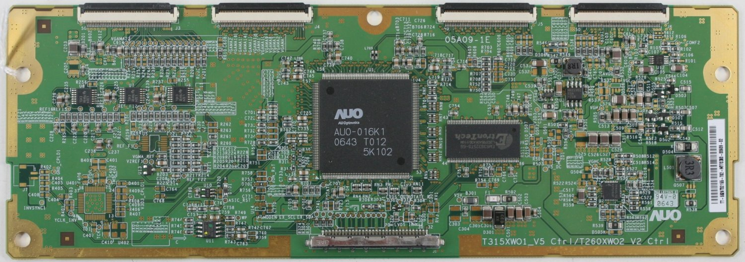 Audiovox 55.26T02.155 T-Con Board