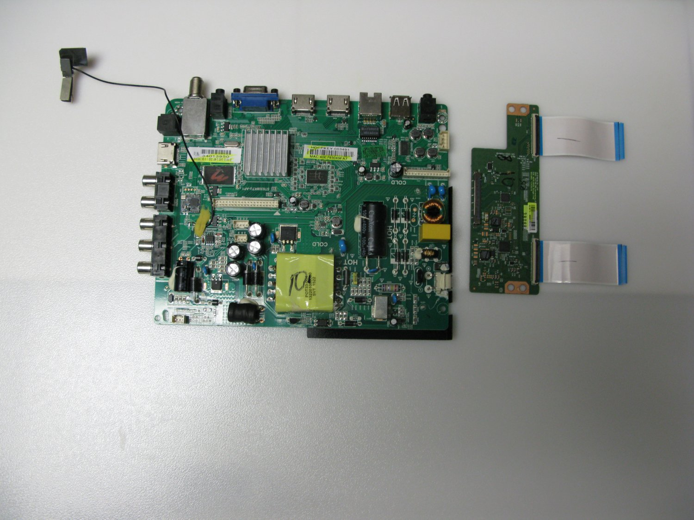 Seiki 34013950 Main Board for SE43FKT Complete TV Repair Kit