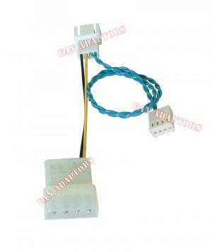 4-pin Fan Connector Cable Fan Header Restoration Adapter