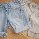 2 pair Aeropostle shorts(sz 1)