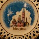 Disneyland Souvenir Plate Turquoise Back Stamp Vintage