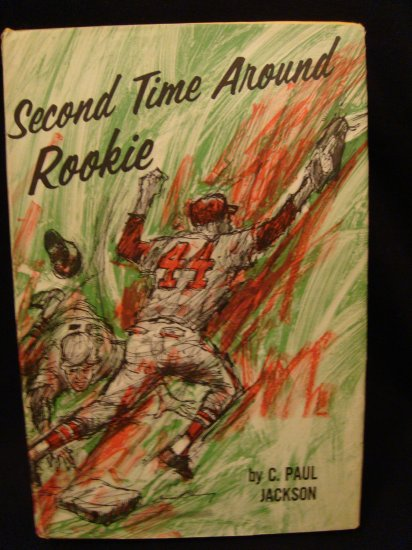 Second Time Around Rookie Baseball Book CC DJ VGC 1968
