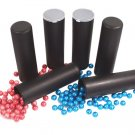 XP3071A(6)   6 GXG 100 round BLACK Paintball Flip Top Tubes Pods VL ball haulers