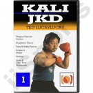 VL1001A-DVD  Ted Lucaylucay Kali Escrima Jeet Kune Do JKD DVD #1 angles attack weapons