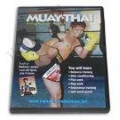 VD6510A  Mechanics Muay Thai Kickboxing #2 Kicking Knees Blocking DVD Saekson Janjira