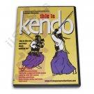 VD6550A  This Is Kendo DVD Alexander Shinai Iaido samurai sword Iai swordsmanship M25