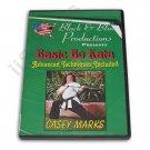 VD6898A    Bo Staff Advanced Championship Kata DVD Casey Mark kobudo tournament karate