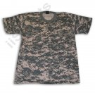 AT0113A  PCS Paintball Airsoft Digital Camouflage Tee short sleeve T-Shirt LARGE NEW digi