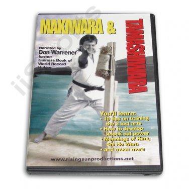 VD6677A   Karate Punching Makiwara & Tamashiwara Breaking Techniques DVD Warrener M43 NEW!