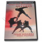 VD6892A  Koga Ryu Ninja Weapons DVD Juan Hombre ninjitsu throwing stars shuriken spy