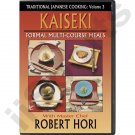 VT5030A-DVD  Traditional Japanese Cooking Cookbook Formal Kaiseki Dishes DVD Chef Robert Hori