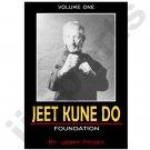VT0611A-DVD  Jerry Poteet Jeet Kune Do #1 Foundation DVD Bruce Lee Jun Fan Lead Leg Hand