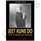 VT0641A-DVD  Jerry Poteet Jeet Kune Do #4 Five Ways Attack DVD Bruce Lee NEW! don chi sao