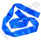 UC9000A-BLU Blue Chinese Kung Fu Pa Kua Wing Chun Tai Chi Martial Arts Satin Sash Belt gung