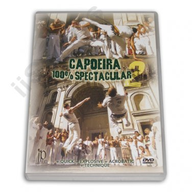 VD6058A  Brazilian Jungle Capoeira 100% Spectacular #2 DVD Sabia Boneco #IF-92-154 mma