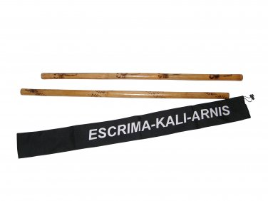 WF0530P Escrima Kali Arnis Stick Doce Pares Burned Rattan Set