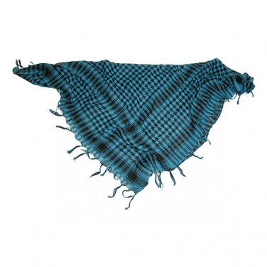 AC5130A   Spec Ops Shemagh Keffiyeh Tactical Scarf Headwrap Checkered SKY BLUE paintball airsoft