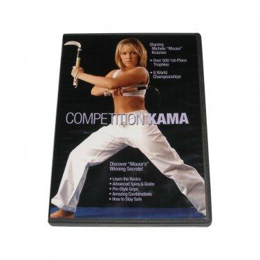VD5230A Competition karate Kama DVD Michele Mouse Krasnoo MKCK-D tang soo do