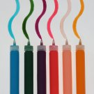 YZ0117A  Sakura 3D Crystal Lacquer 6 PASTEL Color Applicator Pen Set 03002 hobby crafts