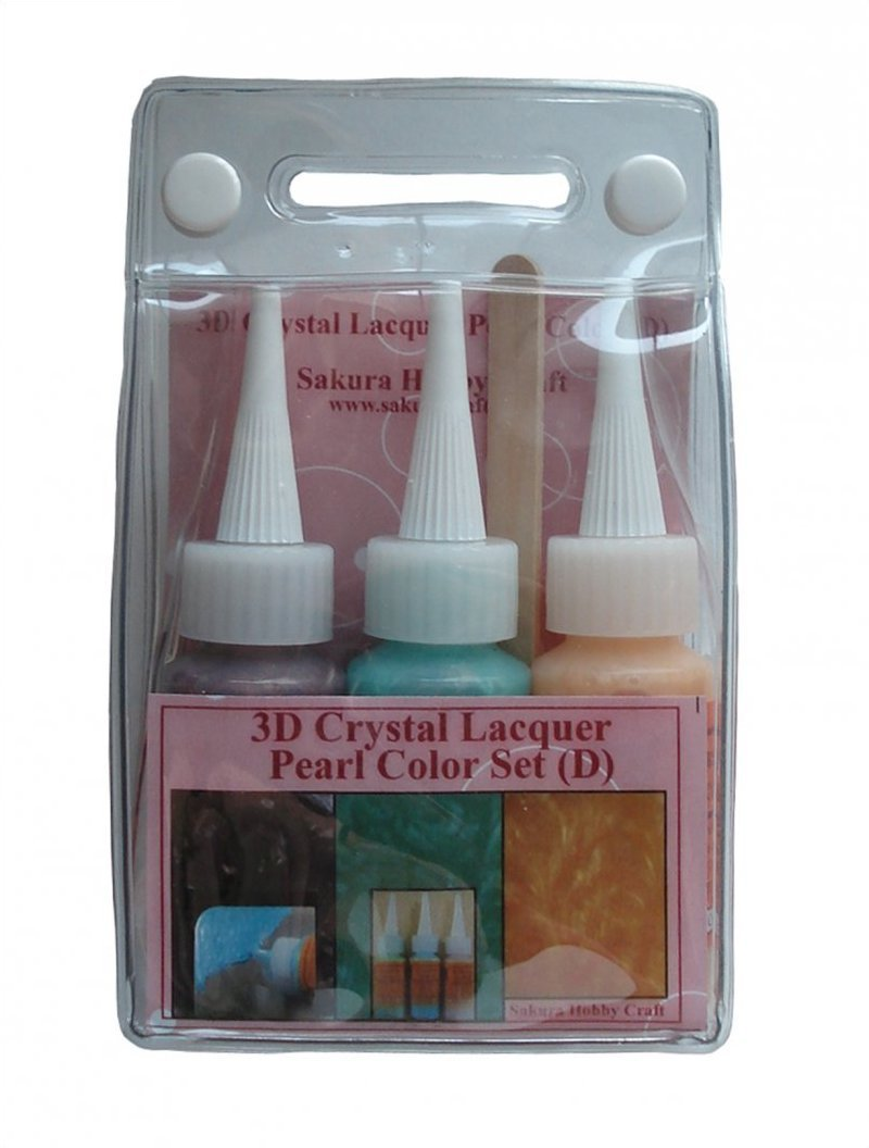 YZ0125A Sakura 3DCL Pearl Color Lacquer Set D 03036 hobby craft