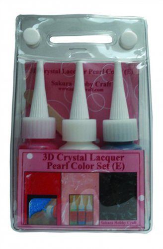 YZ0126A Sakura 3DCL Pearl Color Lacquer Set E 03037 hobby craft