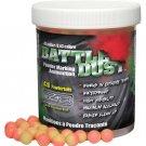XP7053A-PY  430 count Jar .43 caliber Dust Powder Balls Paintball Pink/Yellow 11mm waterproof