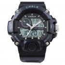 AW0100A-BK CHALK Velocity Carbon V Extreme Sports Watch -BLACK paintball mma bjj 52mm