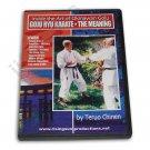 VD6819A Inside Miyazato Okinawan Goju Ryu Karate Meaning DVD Teruo Chinen Jindokan