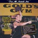 VD7054A Power Training For Martial Arts MMA Karate DVD Karl List Golds Gym Venice Beach