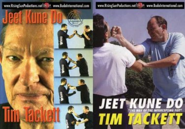 VD7066A Jeet Kune Do Tim Tacket 2 DVD Set Bruce Lee jun fan martial arts kung fu
