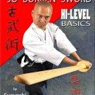 VD7144A Japanese Jo Bokken Sword High Level Basics DVD Akeshi  Iaido Kenjutsu