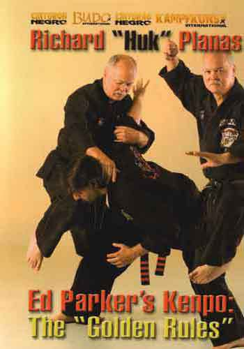 VD7170A Europe Ed Parker Kenpo Golden Rules DVD Richard Huk Planas