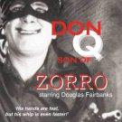 "VD7230A Don ""Q"" Son Of Zorro DVD Douglas Fairbanks"